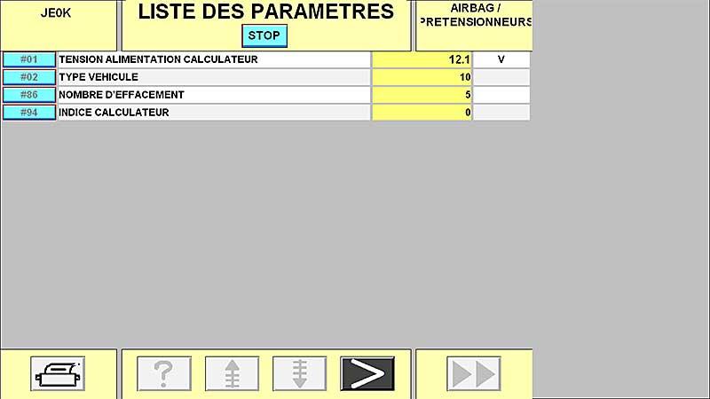 Effacement défaut airbag impossible - Espace 3 2,2 dci 130cv 2001 Screenshot_4