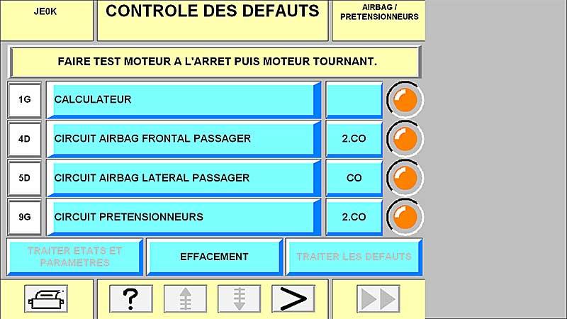 Effacement défaut airbag impossible - Espace 3 2,2 dci 130cv 2001 Screenshot_6